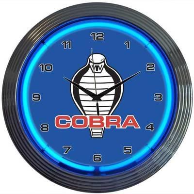Ford Shelby Cobra Neon Clock