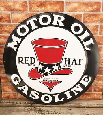 Red Hat Motor Oil Gasoline