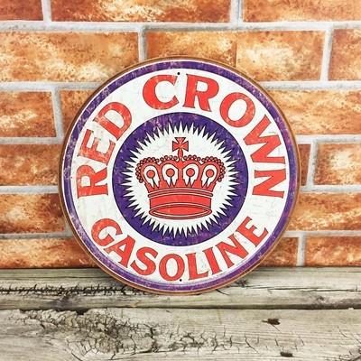 Red Crown Gasoline Gas