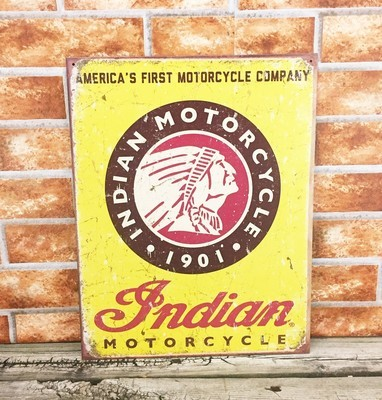 Indian Motorcycle America's First Logo