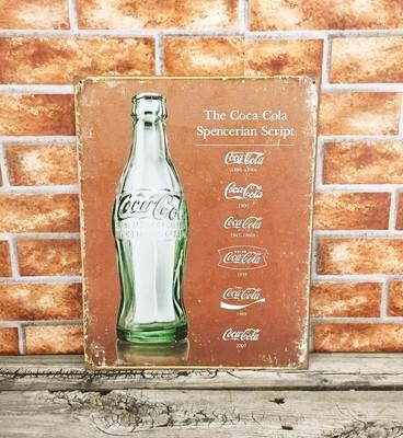 Coca-Cola Coke Historical Script
