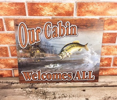 Our Cabin Welcomes All Bass Fishing