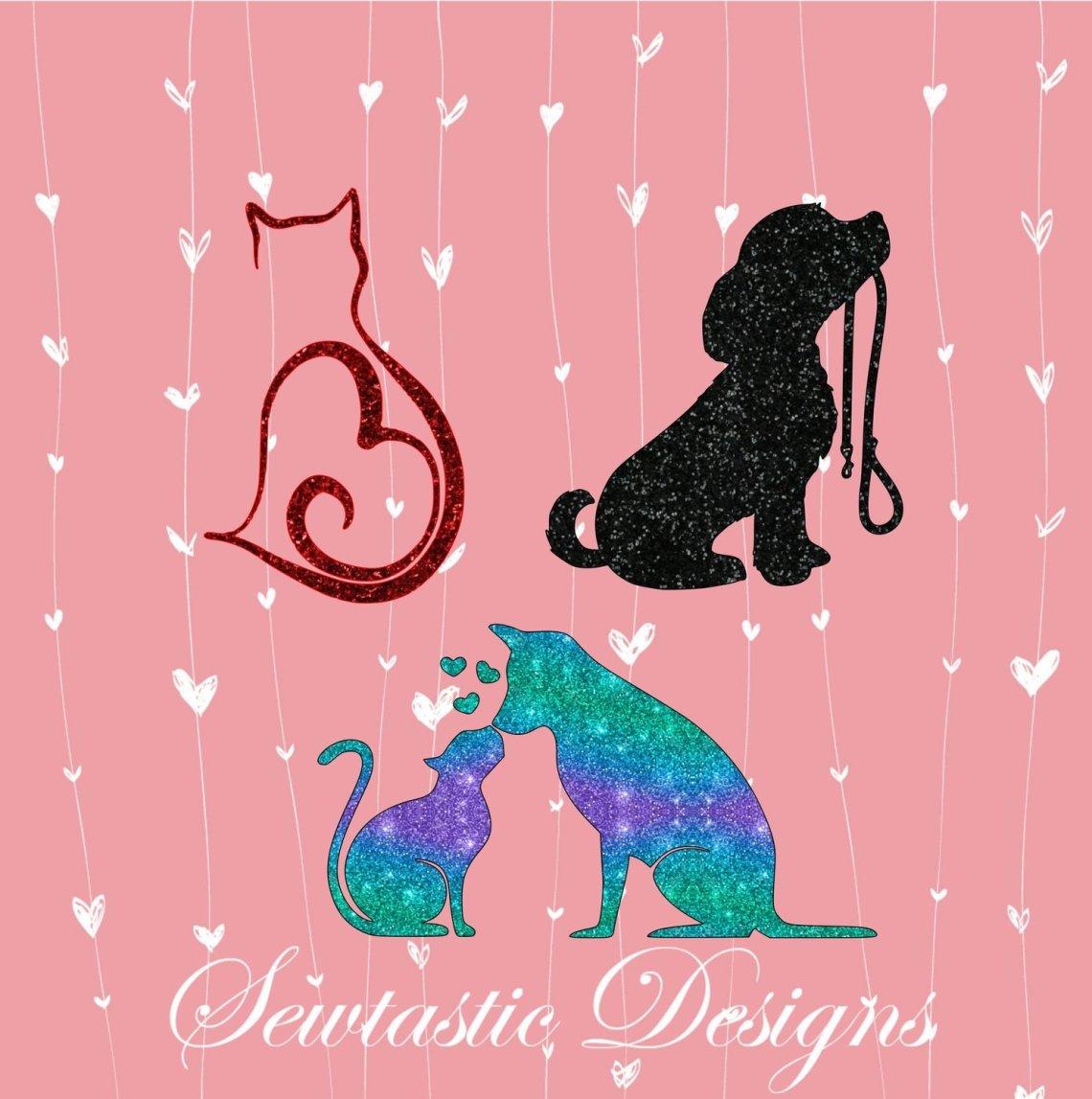 Download Animal Love & SVG, Cat SVG, Dog SVG, Cut File, Iron On ...