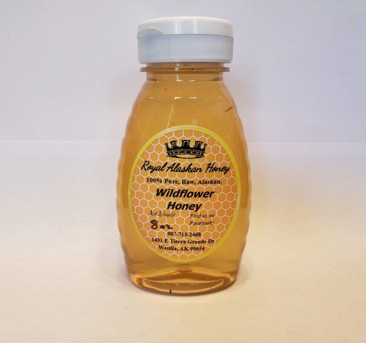 1/2lb Wildflower Honey