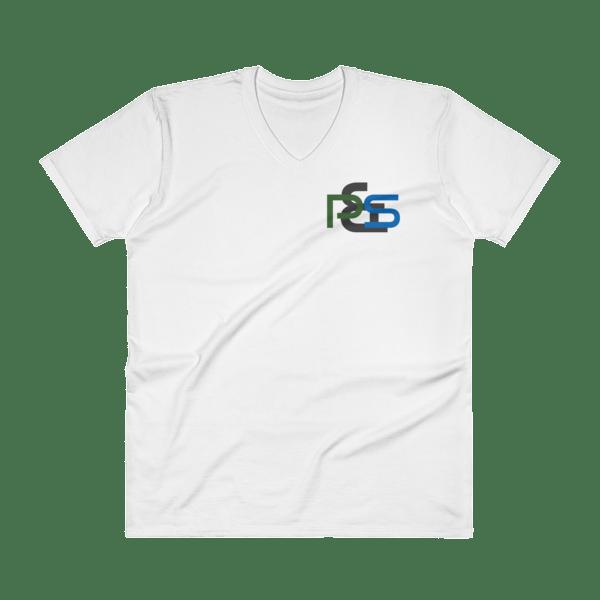 P&S Logo V-Neck T-Shirt