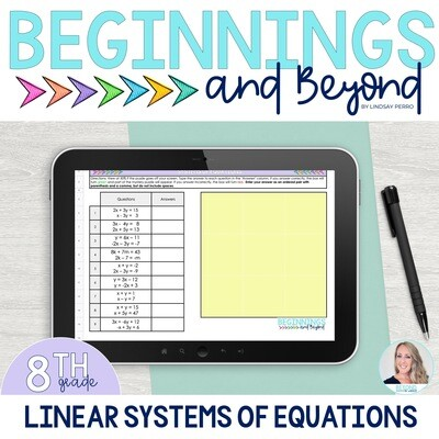 Systems of Equations Digital Puzzle