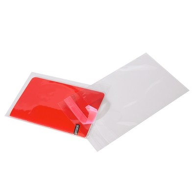Crystal Clear Polypropylene Lip and Tape Bags 4.125