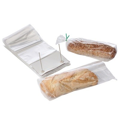 Wicketed Poly Bakery Bags with Bottom Gusset 14