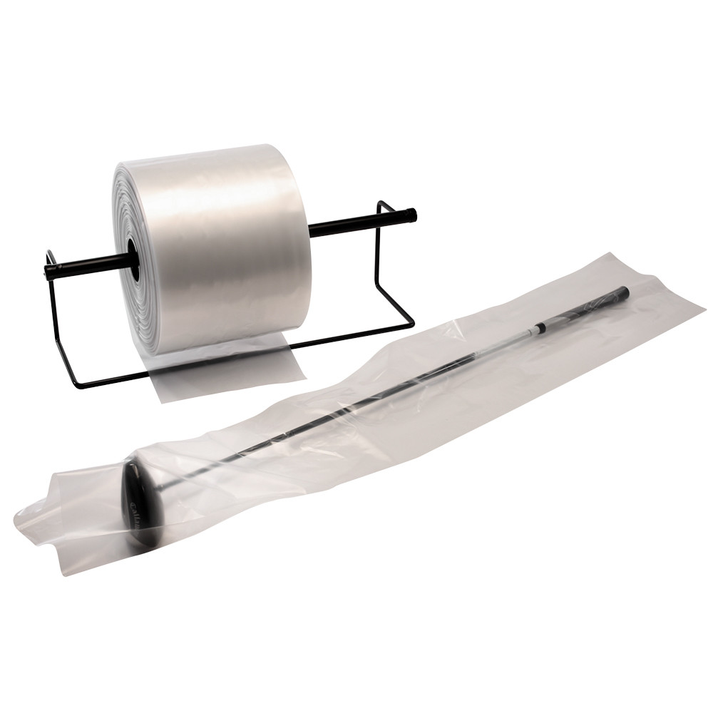 Clear Poly Tubing 2 mil 4