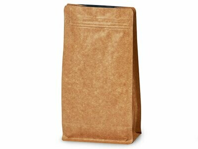 16 oz Kraft Coffee Bags with Degassing Valve, 25 pack
