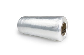 """15"""", 80 Gauge Cast Hand Stretch Film Clear 1500 FT/Roll"""