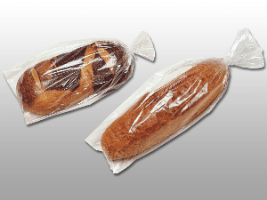 13 X 24 + 1 1/2 LP 1 mils Polypropylene Micro-Perf Bread Bag