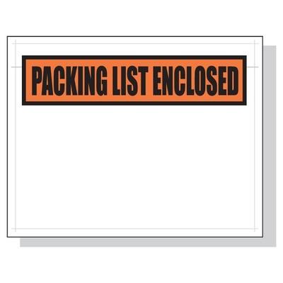 Printed Packing List Envelopes 7