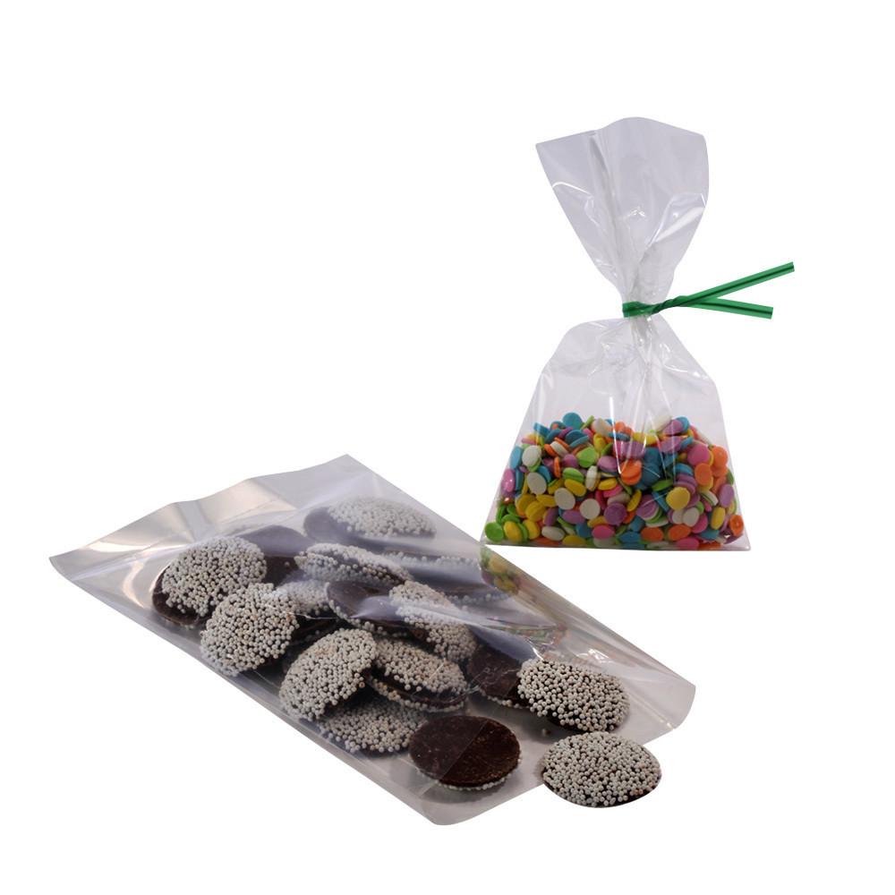 Crystal Clear Flat Polypropylene Bags 12