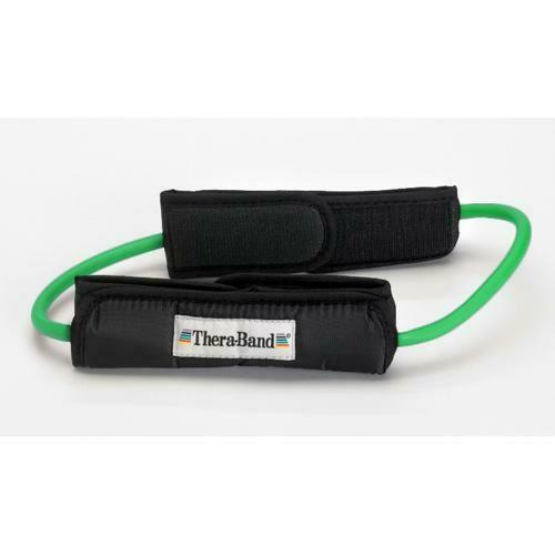 Green Theraband Tubing Loops