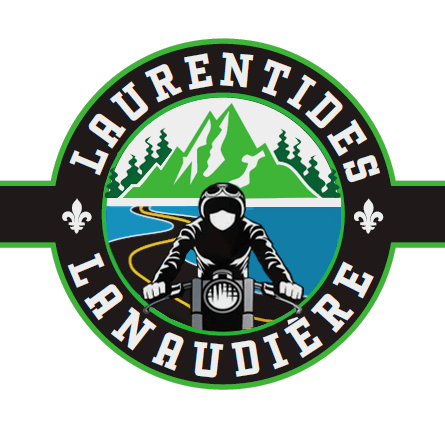 Autocollant Moto Laurentides & Lanaudière