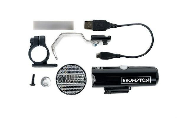 Cateye Volt 400 lumen battery Lamp -with fork bracket for Brompton 9016785