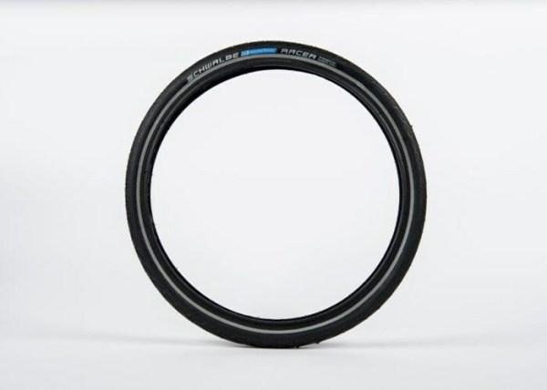 Schwalbe Marathon Racer Tyre 35-349 with reflective strip