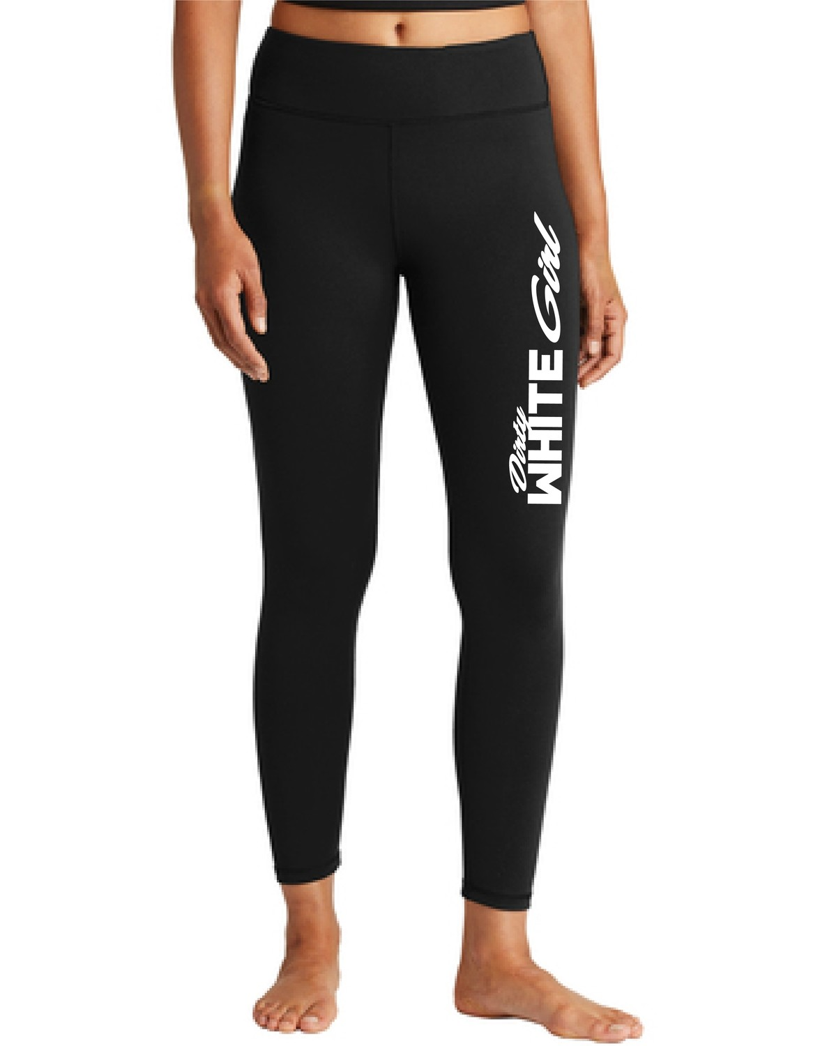 Dirty White Girl Racing Leggings