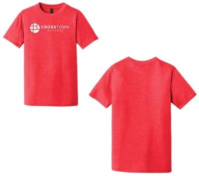 2020 Youth Tri-Blend CrossTown TShirt