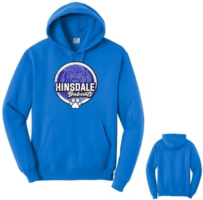 2020 Hinsdale Bobcats Hoodie