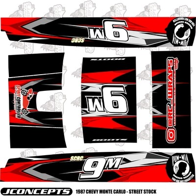 JConcepts 1987 Chevy Monte Carlo Wrap (Custom Designed to Order)