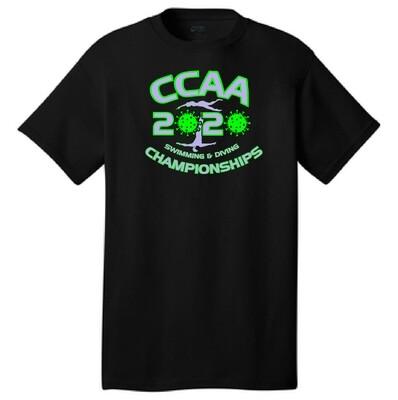 2020 CCAA Championship Swim Meet T-Shirt