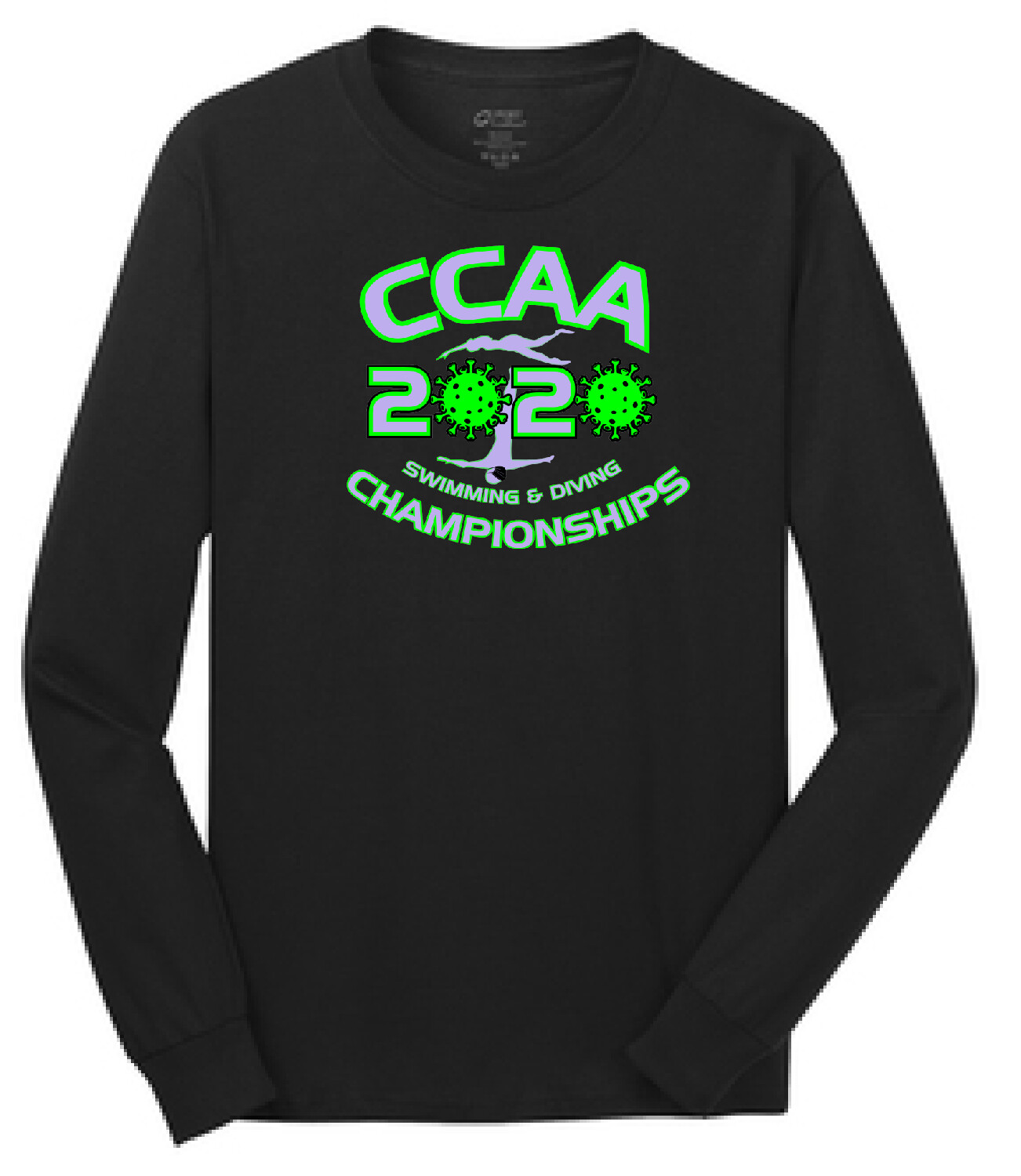 2020 CCAA Championship Swim Meet Long Sleeve