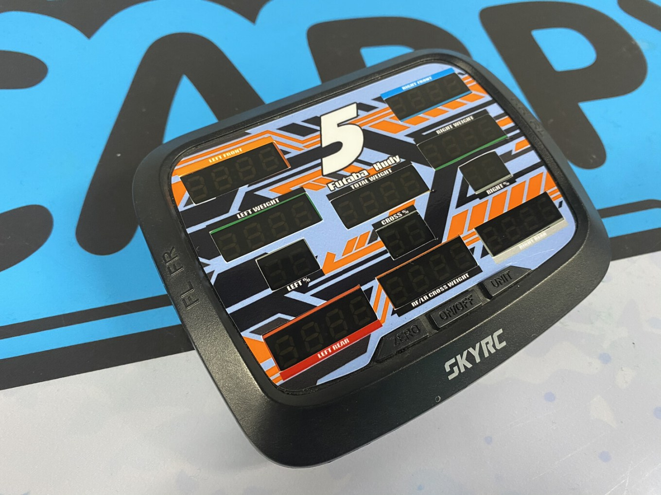 G-Force Scale Screen Wrap Custom Wrap (Designed to Order)