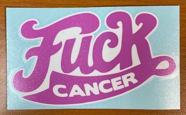 Fuck Cancer | Pink Ribbon Sticker