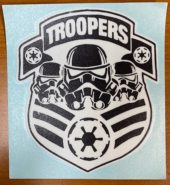 Storm Troopers Sticker