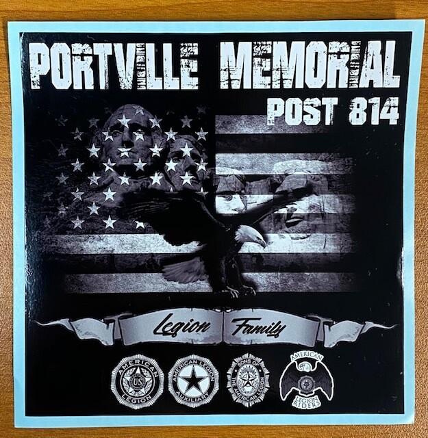 Portville Legion Sticker
