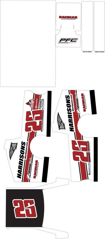 2019 Bubba Pollard; Mudboss Wraps (Predesigned)