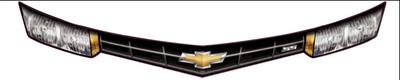 Shark Atomic Chevy Late Model Alternative Headlights & Grille