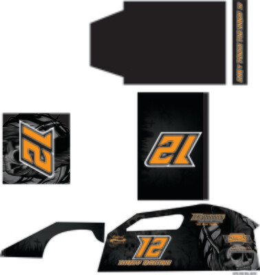 Mark's Modified | Short Course Modified Wrap (Custom Designed to Order)