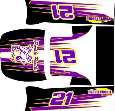 Onstat Bullet 3 Late Model Wrap (Designed to Order)