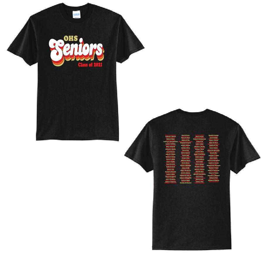 2021 Olean Seniors T-Shirt