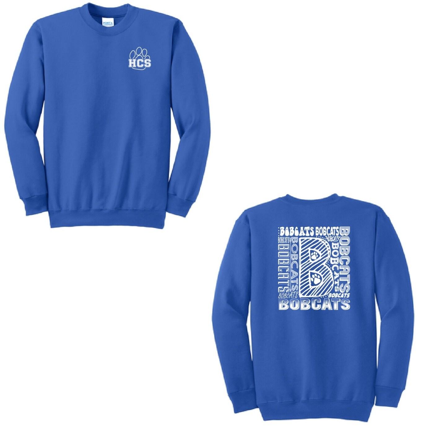 2021 Fall Hinsdale Spirit Wear Crewneck Sweatshirt