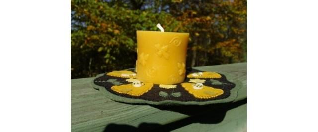 3x3 Bee Candle
