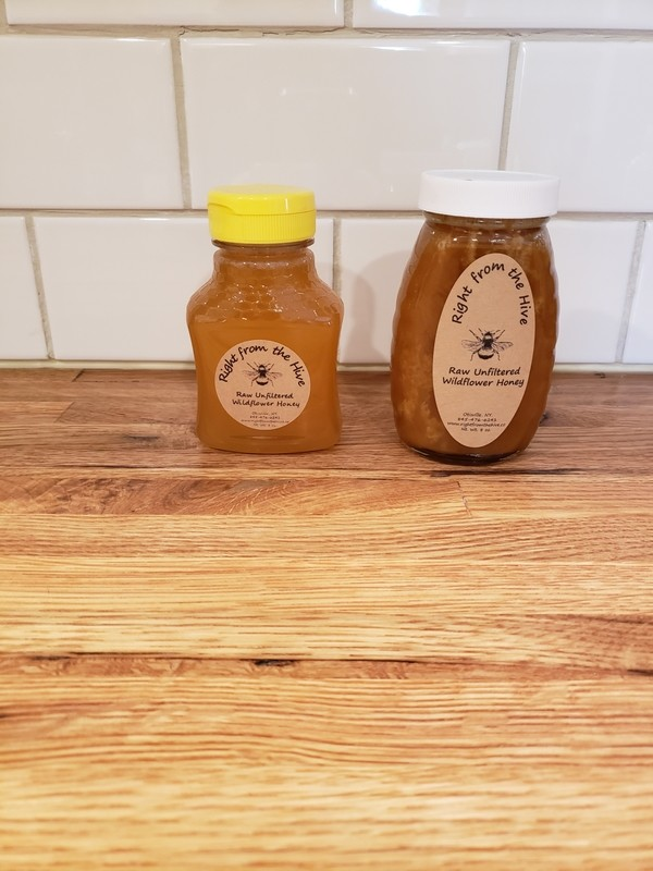 Raw Unfiltered Honey 22oz.