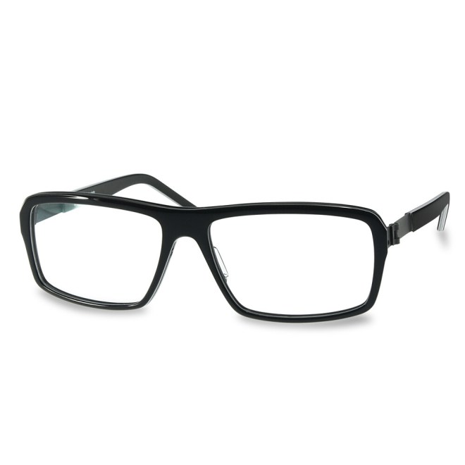 Acetate FFA 985 Black-White Stripes (58-16-140 mm)  size L