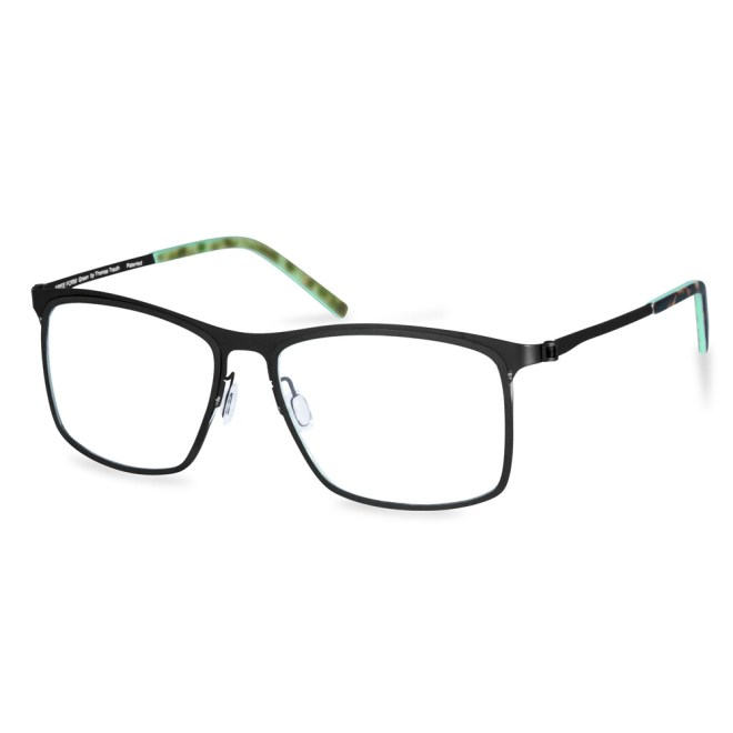 Green Full Rim FFA 970 Black   (56-17-145 mm)  size L