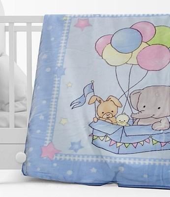 Κουβέρτα Βελουτέ Κούνιας 1024 Μπλε - Sunshine