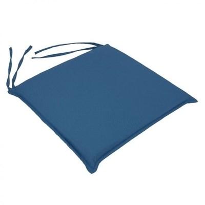 Μαξιλάρι Καρέκλας Μονόχρωμο Μπλε - Be Comfy