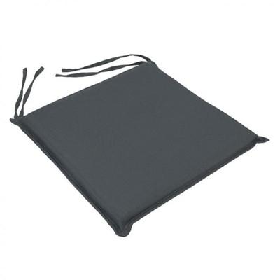 Μαξιλάρι Καρέκλας Μονόχρωμο Ανοιχτό Γκρι - Be Comfy