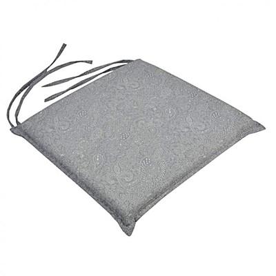 Μαξιλάρι Καρέκλας Vitro Γκρι - Be Comfy