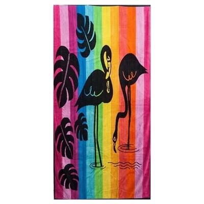 Πετσέτα Θαλάσσης Ζακάρ Flamingo 025 - Komvos