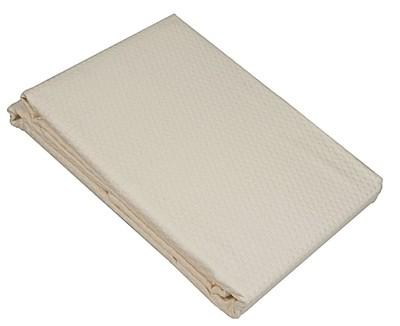 Κουβέρτα Πικέ Μονή Sanforized Cream - Le Blanc