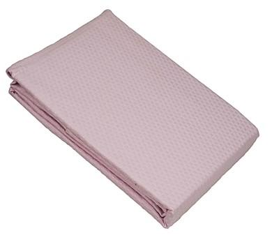 Κουβέρτα Πικέ Μονή Sanforized Pink - Le Blanc