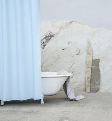 Κουρτίνα Μπάνιου Υφασμάτινη 180Χ180 εκ. Essential Blue - Nima Home